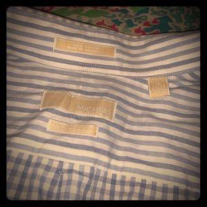 Men's Micheal Kors dress shirt 👔 size large